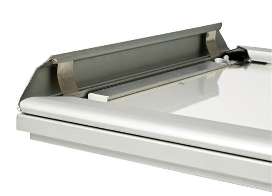 lightbox med snäppram