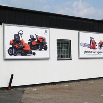stora reklam tavlor för väggar